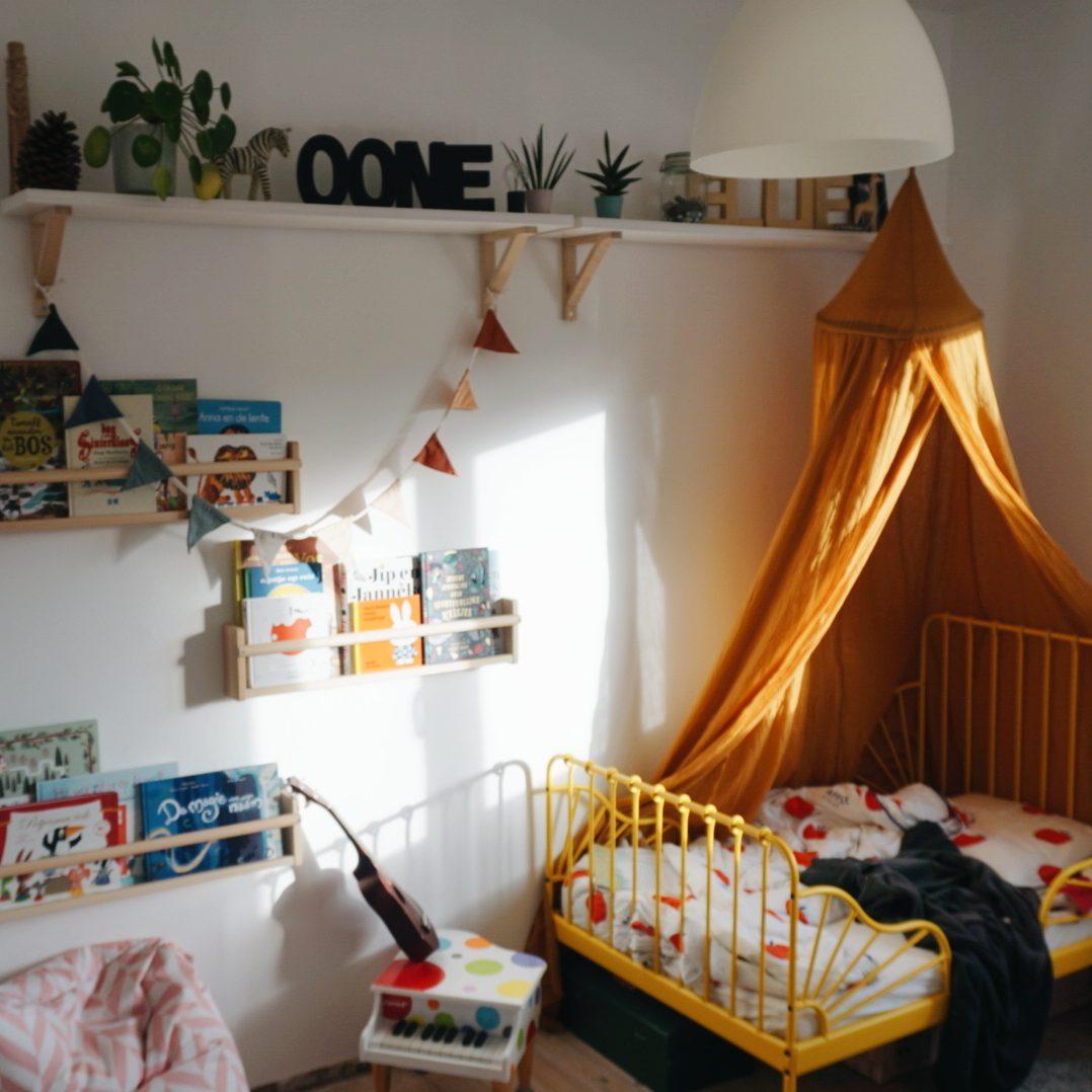 Twee kinderen op één kamer