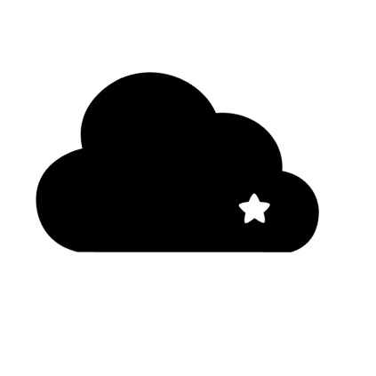 steun boven de wolken