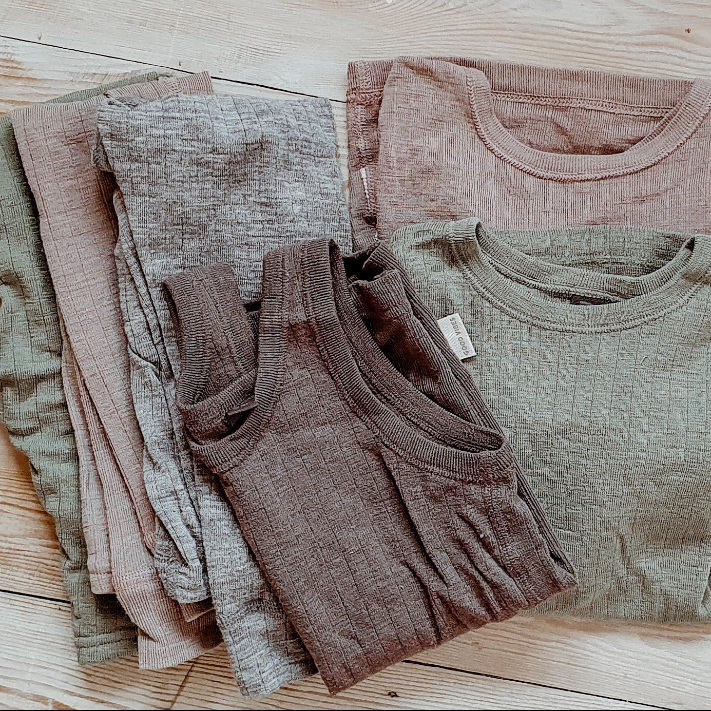 Wollen ondergoed en kleding